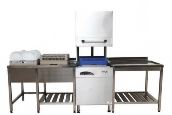 Посудомоечная машина купольная конвейерная c подставками Kayalar (Турция)