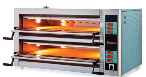 Печь для пиццы двухярусная (12 пицц 35 см)