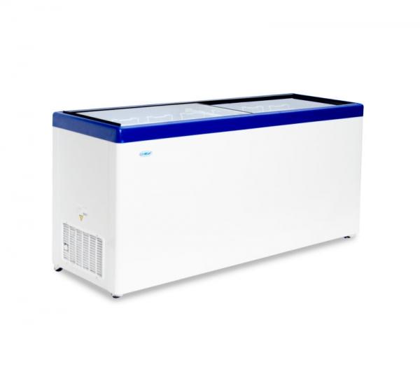 Морозильный ларь с прямым стеклом МЛП 700