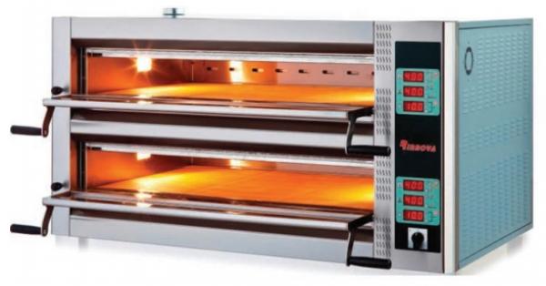 Печь для пиццы двухярусная (12 пицц 30 см)