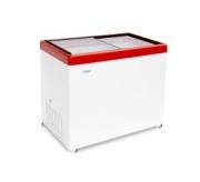 Морозильный ларь с прозрачной стеклянной крышкой МЛП 350
