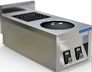 Плита индукционная комбинированная Техно-ТТ ИПК-210114