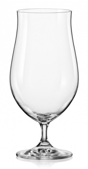 Crystalex CZ Beer glasses 40,752-550