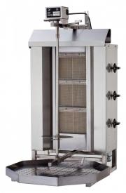 Гриль для шаурмы газовый Kayalar KLG-220/3
