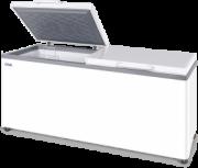 Морозильный ларь с глухой крышкой МЛК 800