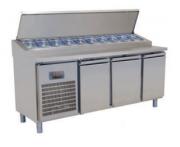 Холодильный стол для приготовления пиццы Kayalar (2 двери)