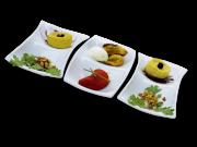 Дегустационная тарелка Nº1 24x12 cm (Испания)