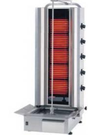 Гриль для шаурмы электрический со стеклянной стенкой Kayalar KLG-170/3